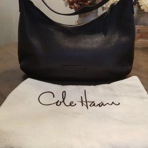 Cole Haan Large Pebble Leather Hobo Bag